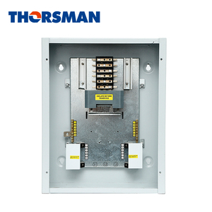 Three phase distribution box din rail electrical panel box steel wall mount distribution control box boards