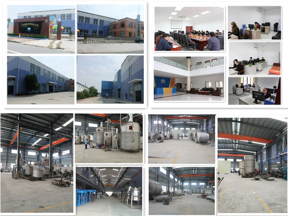 Jinzong Machinery Stainless Steel Reaction Vessel