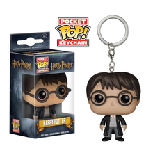 Funko Pop สัตว์มหัศจรรย์ Nifflers Pickett Bowtruckle key chain Harry Potter Crimes of Grindelwald Funko POP keychain