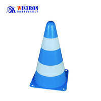 "9-Inch Tall Cones Sports Training Safety Cones, New 9"" Tall Cones , Soccer Football Traffic Safety"