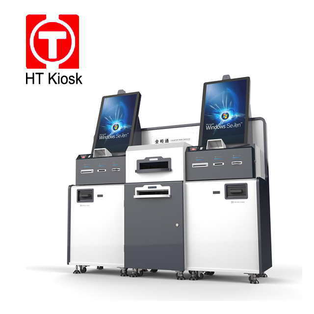 Self Service Payment Kiosk Bitcoin ATM Machine With Cold Rolled Steel Self Service Payment Kiosk