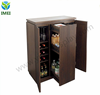 POP Whiskey Glass Storage Bar Cabinet Steamer Liquor Wine Rack