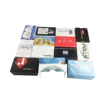Trade Assurance 3d viewer 3d glasses paper cardboard google 2.0 glasses with good price