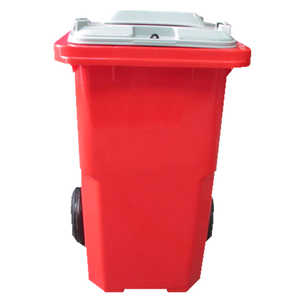 Cheapest 120L kitchen rubbish bin street garbage bin stand for residential street medical use
