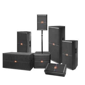 DJ sound dual 15 inch dj speaker SRX box