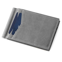 Wholesale New Front Pocket RFID Blocking Mens ID Credit Card Holder Wallet Money Clip Metal