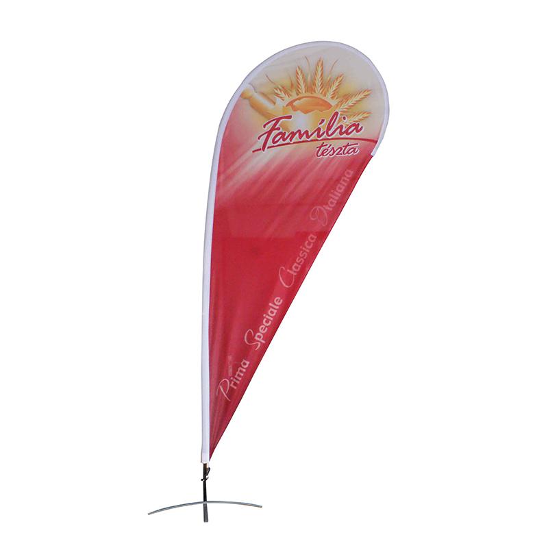 Реклама наружный баннер флаг, пляж флаг, перо флаг