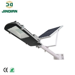 Custom Solar Lithium Battery LED Street Light Lamp With Remote Control