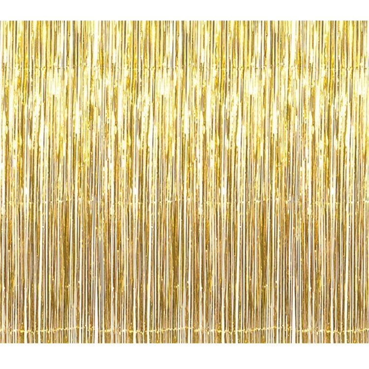 Metallic Folie Fringe Gordijnen Party Gordijn voor Bruiloft Decoratie