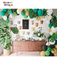 Jungle Safari Theme Party Decorations Safri Party Supplies and Favors for Kids Boys Birthday Baby Shower Decor K122