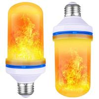 Decorative Flickering 9w led fake flame lamp for Christmas Halloween Festival Holiday