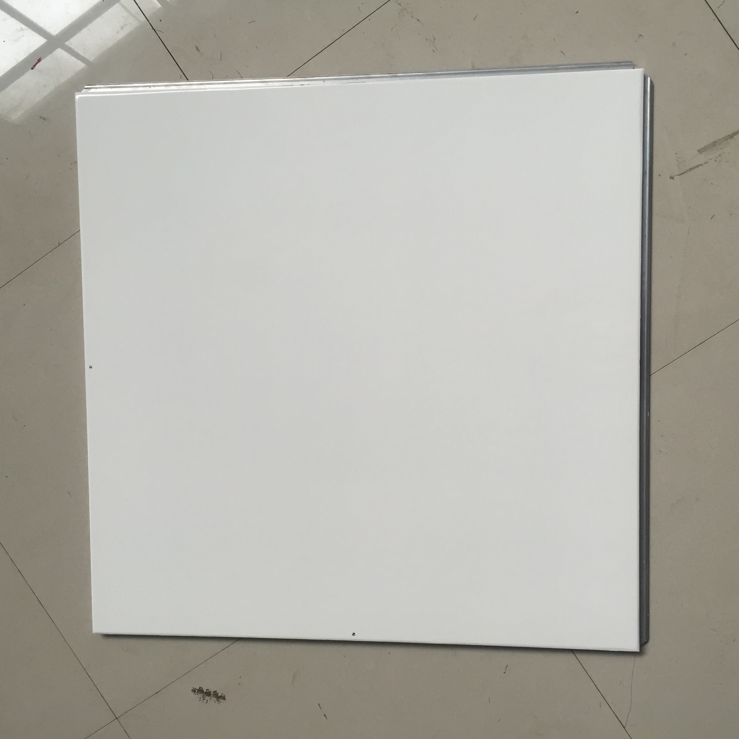 Solid panel high gloss white dance floor for wedding party