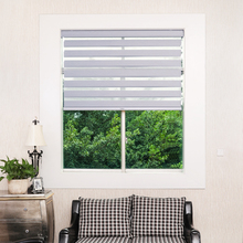 Smart blackout cordless zebra jalousien vorhang jalousien fenster schatten