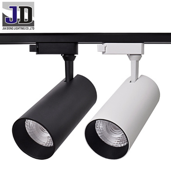 Led Light Track 30w Cob Rail Spotlight Warm Neutral Cool White Spot Lighting