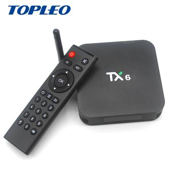 Topleo Oem/odm Tx6 Allwinner H6 4g 32g 2 4g/ 5g Wifi Bt 4 1 Ota Android Ott  Tv Box Firmware Update - Buy Tx6 Ott Tv Box Firmware Update,Tx6 Android Tv