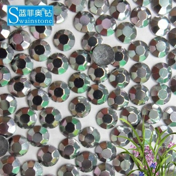 S0804 ss6 2mm jet hematile  hotfix rhinestone;lead free korea hotfix rhinestone;hotfix rhinestone korea lead free for clothes