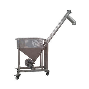 Wheat flour hopper ss304 inclined screw conveyors for coffee powder