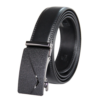 Factory Price Business Black Leather Belt for Men
