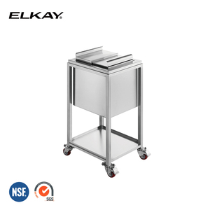 NSF Stainless steel Commercial Restaurant Hotel Bar Mobile Ice Bin