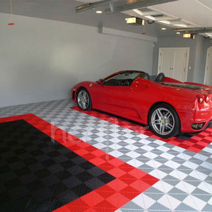 GOOD quality garage use pvc tile flooring