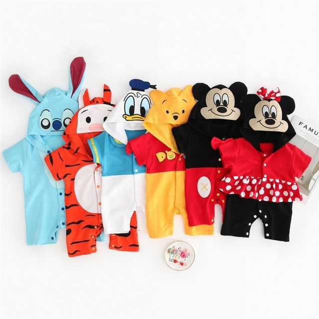 Animals pattern Baby Clothes rompers 100% Cotton Tips For Small Businesses фото