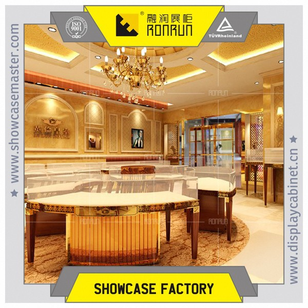 Top Rated Retail Shop Design Royal Style Jewelry