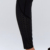 women's slimming black and pink skinny workout sport gym exercise girls fitness pants with pockets