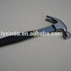 Carbon Steel Hammer Steel Claw Hammer 45# Carbon Steel Claw Hammer With Steel Handle Rubber Grip