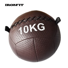 Braun Weiches <span class=keywords><strong>Stärke</strong></span> Übung <span class=keywords><strong>Ball</strong></span> Gym PU Wand <span class=keywords><strong>Ball</strong></span>