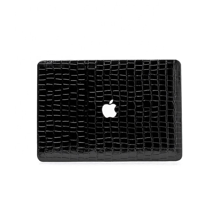 Embossed Crocodile Leather Laptop Case For Macbook For <strong>iPad</strong>