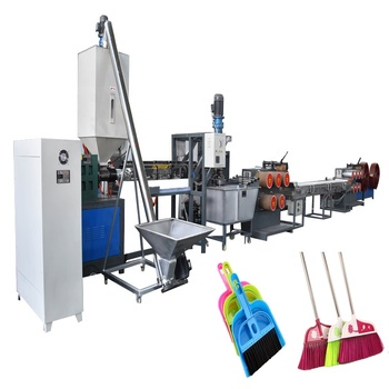 PET broom extruder machinery / PET monofilament production line