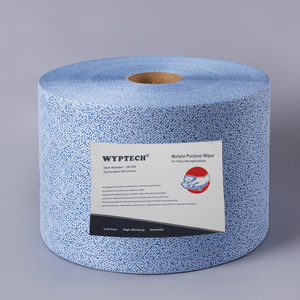 Perforated Jumbo Roll PP Meltblown Industrial Wiper Grease Clean Wipes