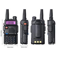 BAOFENG UV-5R Dual Band vhf uhf שימושי רדיו ווקי <span class=keywords><strong>טוקי</strong></span> 200 km