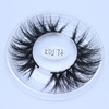 Hot selling luxury 3D 100% mink fur hair lash extension