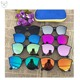 Custom designer children sunglasses for kids baby boys girls sun glasses protect eye with mirror uv400 lens