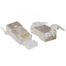 <span class=keywords><strong>Conector</strong></span> de crimpado de red Cat7 blindado STP/FTP Cat.7 <span class=keywords><strong>conector</strong></span> Modular 8p8c Cat 7 RJ45