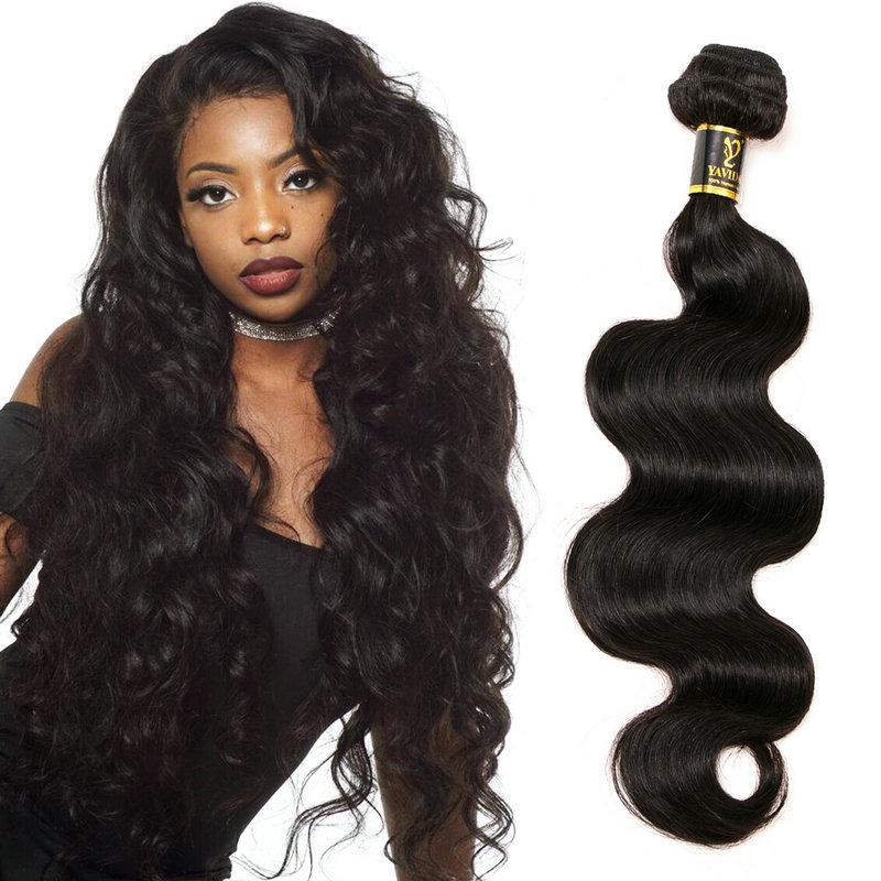 9A grade human hair weave bundles unprocessed Body Wave peruvian Double Drawn Virgin hair фото