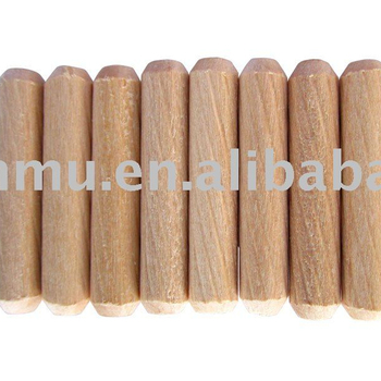 Twist Grooved Wooden dowel pin from good supplier