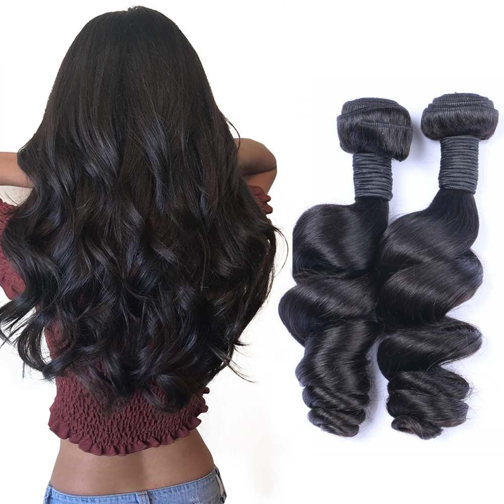 Wholesale Unprocessed Hot Sale cuticle aligned loose wave human hair фото