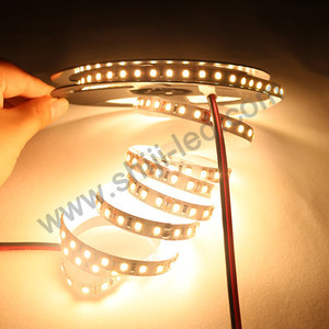 DC12V 24V 120pixels solid color flexible led rope strip 2835 60d