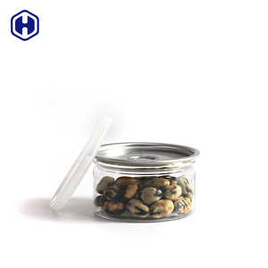 Sealing aluminium EOE POE lid 211 height 38 mm good quality clear PET plastic food canning 100 ml empty tuna tin cans
