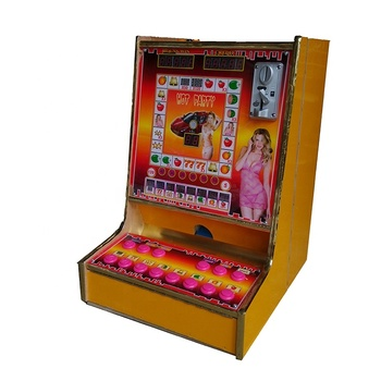 19 Inch LCD popular coin operated table game machine slot