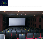 4K Home Cinema Easy to Install Long Focus 3D Silver Metal Perforating Sound Transparent Projector Screen Fabric ZHK100B-MFS1
