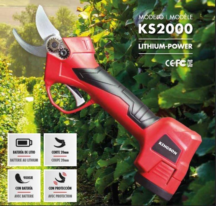 2018 Kingson cordless electric pruning shears