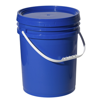 20 Liter Blue 5 Gallon Chemical Pail Handling Food Grade Plastic Bucket For Paint
