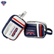 OEM Embroidery Logo Golf Small Bag PU Leather Golf Accessories Pouch Bag