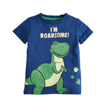 Fashion Cotton Boys  T-Shirts Children Kids Cartoon Print T shirts Baby Child Tops Clothing Tee