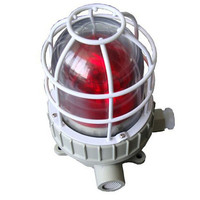 Explosion proof led warning light with sound for sale