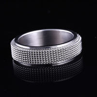 Hot Products Vintage Charms Copper Alloy Jewelry Silver Cactus Ring