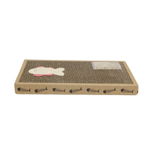 Sayone Pet échantillon gratuit Carton D'éraflure de Chat Lit Chat Scratcher Board <span class=keywords><strong>Ondulé</strong></span> Salon